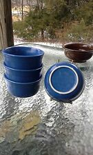 set 4 GUSTO BOWLS lapis blue HOMER LAUGHLIN FIESTA WARE 23 OZ. NEW