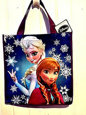 Disney Frozen Reusable Grocery Tote Gift Bag Elsa and Anna New