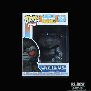 Funko Pop! Godzilla Vs. King Kong with Battle Axe MonsterVerse IN STOCK Pop 1021