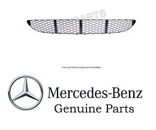 Mercedes W211 E320 E350 Center Front Bumper Cover Grille w/o AMG Sports Package