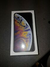 apple iphone XS max 256gb silver BRAND NEW BOXED UNOPENED SIM FREE