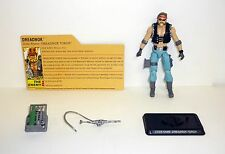 GI JOE DREADNOK TORCH 25th Anniversary Figure COMPLETE w/FILE CARD C9+ v3 2008