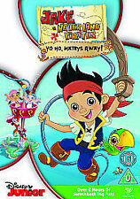 Jake And The Never Land Pirates - Yo Ho, Mateys Away! Dvd New & Factory Sealed