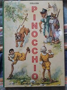 Pinocchio libro illustrato Collodi Editrice Piccoli Milano