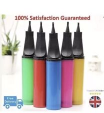 Two Way Manual Balloon Pump Inflator for Party Decor Assorted Colors UK