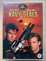 Navy Seals DVD 1990 Beirut Basado Acción Película con / Charlie Sheen + Michael