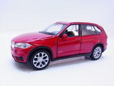 LOT 47701 | Welly BMW X5 Typ F13 ab 2013 Geländewagen Modellauto rot 1:43 NEU