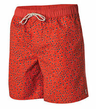 O'Neill MONTAUK Mens Polyester Blend Boardshorts Size 32 Clay Red NEW