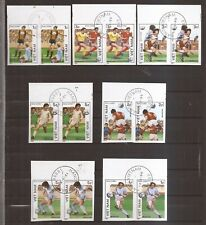 VIETNAM - 1986 - 2 x COMPLET SET ( Pairs ) - World Cup Fussball - Mexico