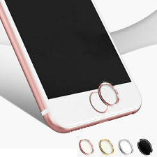 Sensitive Unlock the fingerprint Metal Home button Sticker For Apple iPhone iPad