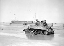 """Royal Navy during Operation Overlord Normandy 5""""x 7"""" World War II WW2 Photo 649"""