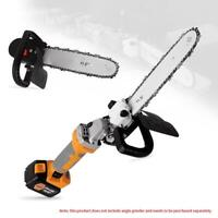 11.5inch Electric Chainsaw Stand Bracket Set Woodworking Cutting Polishing Tool