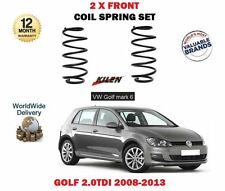 FOR VOLKSWAGEN VW GOLF MARK 6 2.0 TDI 2008-2013 NEW 2X FRONT COIL SPRING SET