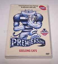 Geelong Cats 2011 AFL Grand Final Premiers DVD New