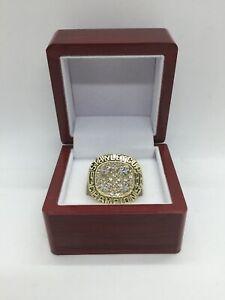1988 Edmonton Oilers Ring Wayne Gretzky Hockey Championship Ring Set with Box
