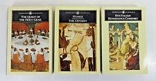 Lot (3) Penguin Classics: Five Italian Renaissance Comedies; The Odyssey +1