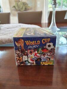 Panini World Cup Story Display  - 50 Tüten - NEU - rar, Pele, Maradona, Müller