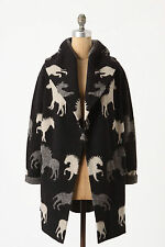 NWT Anthropologie Dressage Sweatercoat Horse Pony Size XS