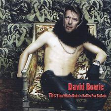 DAVID BOWIE - CD - THE THIN WHITE DUKE'S BATTLE FOR BRITAIN