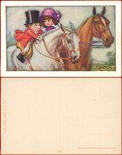 Bertiglia cartolina bambini