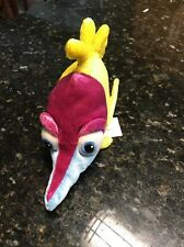 Tad Finding Nemo Cute Plush School Fish Yellow and Blue butterfly fish Disney