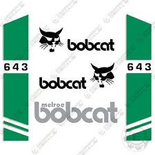Bobcat 643 Skid Steer Decal Kit