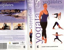 YOGALATES - Best of Yoga & Pilates - VHS - NEW -Never played -Very rare!! - PAL