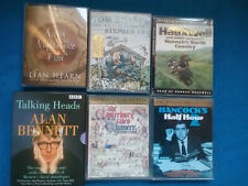 CASSETTE AUDIO BOOKS - 10 BOOKS ON 24 TAPES - JOB LOT APR02