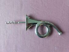 vtg Nickel plated French Horn corkscrew, cavatappi, tire-bouchon, CARL AUBÖCK
