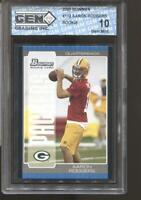 2005 Aaron Rodgers Bowman #112 Gem Mint 10 RC Rookie Green Bay Packers