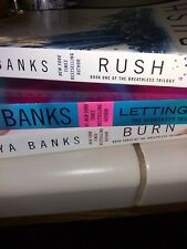 Maya Banks 2 paperback books from the Breathless Trilogy -one from Surrender.
