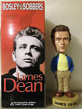 BOSLEY BOBBER JAMES DEAN BLUE JACKET 2003 RELEASE BOBBLE HEAD BRAND NEW *RARE*