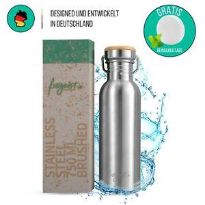Edelstahl Trinkflasche einwandig Outdoor Edelstahl Wasserflasche Sportflasche