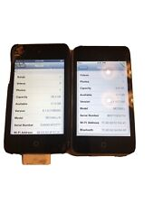 Apple iPod Touch 4th And 2nd Gen Both Work 4th Is 32 Gb 2nd Is 8 Gbs Both Work !