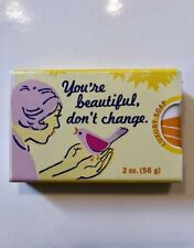 You are Beautiful Blue Q  Novelty Soap Funny Quirky Christmas Filler Cute Gift