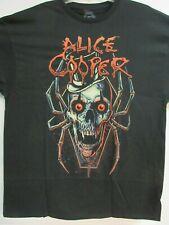 NEW - ALICE COOPER SKULL SPIDER BAND / CONCERT / MUSIC T-SHIRT MEDIUM