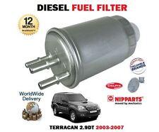 PER HYUNDAI TERRACAN 2.9dt CRDI J3 MOTORE 2003-2007 NUOVO Filtro carburante