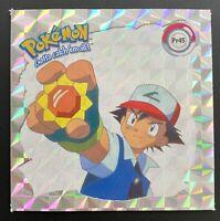 Pokemon Sticker artbox MEOWTH pr10 Argent Paillettes Autocollants 1999 nouveau Autocollant