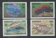 WWF Grenada postfris 1984 MNH 1299-1302 - Vissen / Fish (259)