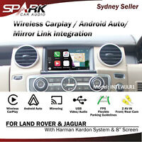 SP WIRELESS CARPLAY ANDROID AUTO MIRROR LINK INTEGRATED FOR LAND ROVER JAGUAR 8""