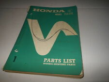 OEM Factory Honda 1968 CB350 CL350 Parts List Manual 184 Pages
