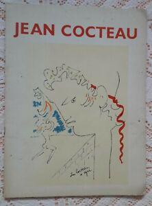 JEAN COCTEAU 1977 EXHIBITION CATALOGUE