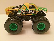 Hot Wheels Monster Jam Suzuki SOBE metal base truck 1:64 scale monster truck