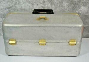 Vintage Aluminium UMCO Fishing 7 Tray Tackle Box 1000AS HTF