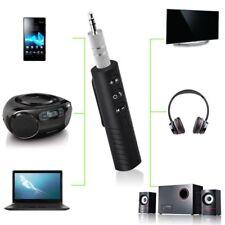 Mini Wireless Bluetooth Car Kit AUX Audio Receiver Hands free 3.5mm Jack HOT rov
