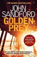 Sandford, John, Golden Prey (Lucas Davenport 27), Like New, Paperback