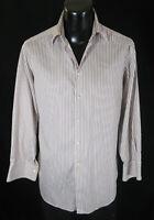 Giorgio Armani Shirt 15.5-32 Sharp Stripes