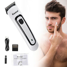 Rechargeable Electric Hair Trimmer Clipper Cutter Men Shaver Barber Haircut Tool