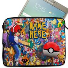 "Personalised Tablet Case POKEMON Neoprene Sleeve Cover 7"" 8"" 9"" 10"" 11"""