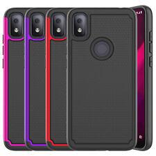 For T-Mobile REVVL 4/4+/REVVL 5G Phone Case Shockproof Hybrid Rugged Armor Cover